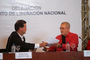 Official talks with the ELN will begin October 27