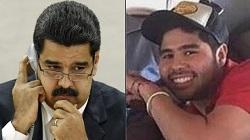 Venezuelan President Nicolás Maduro and Efraín Campo Flores