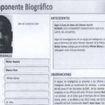 Document containing details on Wilter Blanco's alleged criminal activities