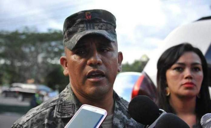 Honduran Army Captain Santos Orlando Rodríguez Orellana