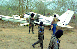 Traffickers use Honduras' La Mosquitia region to land clandestine drug flights