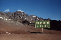 Chilean border crossing