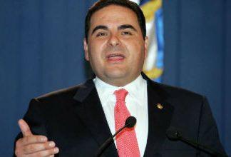 Former El Salvador President Elías Antonio Saca