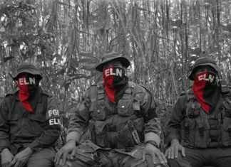 "ELN boss ""Pablito"" filmed in Venezuela"