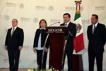 Interior Secretary Miguel Ángel Osorio Chong
