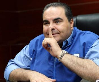 Ex-President of El Salvador Elías Antonio Saca González