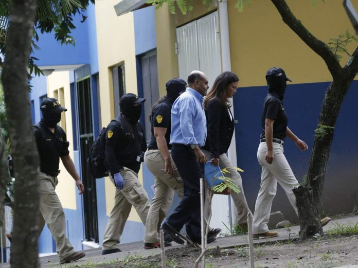 Investigators raid Honduras' Security Ministry