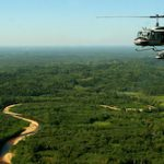 Aerial surveillance along the Bolivia-Brazil border