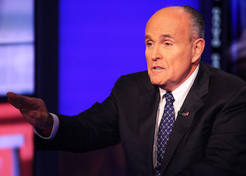 Former New York City Mayor Rudolph Giuliani