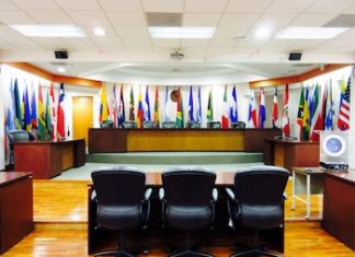 Courtroom at the Inter-American Court of Human Rights