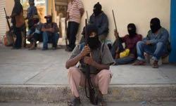 Self-defense groups in Guerrero