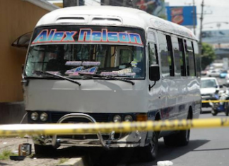 Extortion payments are deducted from some bus drivers' salaries