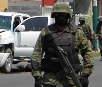 Mexico's military has failed to release data on killings of civilians