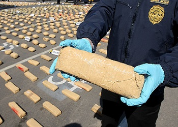 Cocaine seizures in Chile are on the rise
