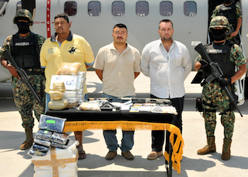 Alleged CJNG members under arrest