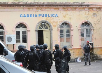 The Cadeia Pública Raimundo Vidal Pessoa where Brazil's latest fatal prison riot took place
