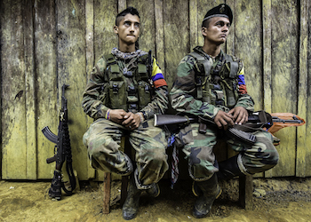 The FARC now appear to be turning on each other