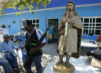 Several Mexican cartels partake in blood sacrifice rituals