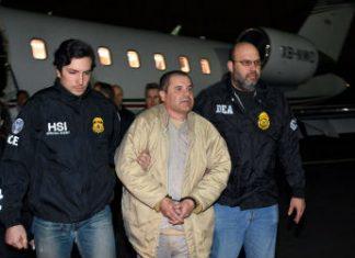 El Chapo in US custody