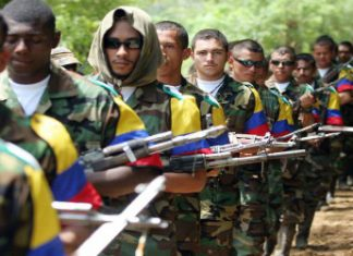 Less than half of the guerrillas have moved into concentration zones