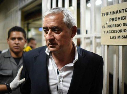 Former Guatemala president Otto Pérez Molina in custody