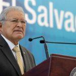 El Salvador President Salvador Sánchez Cerén