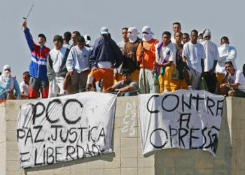 A PCC prison riot in Sao Paulo