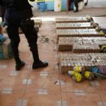 22 suspected drug traffickers were captured in El Salvador.
