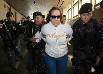 Supreme Court Magistrate Blanca Aída Stalling Dávila was arrested on February 8
