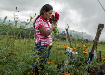 Land activists are more likely to be killed in Honduras than anywhere else in the world.