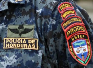 A commission is purging Honduras' police of corrupt officers