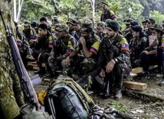 FARC splinter groups are forming around Colombia