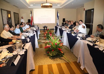 Costa Rica and Nicaragua's bilateral meeting against organized crime