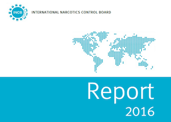 Cover image of INCB report