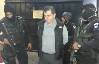 Víctor Hugo Díaz Morales, alias 'El Rojo,' captured in Guatemala City