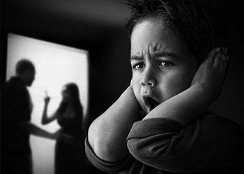 Violence in the household can contribute to youths developing aggressive behavior
