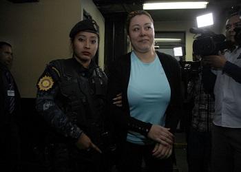 Emilenne Mazariegos in custody