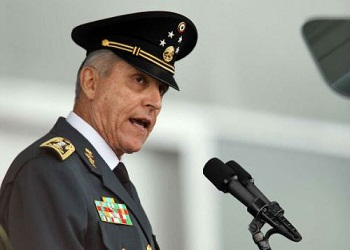 Mexico Defense Secretary Salvador Cienfuegos Zepeda