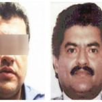 "Alias ""El Negro,"" recently escaped from prison (left), and his father, alias ""El Azul"" (right)"