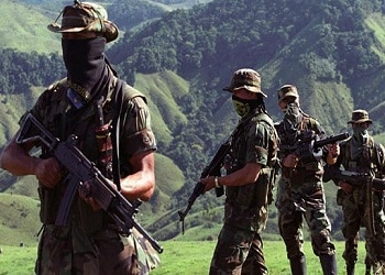 Urabeños paramilitaries and ELN guerrillas clash in Chocó
