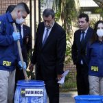 Chilean authorities dismantled a large cocaine processing lab