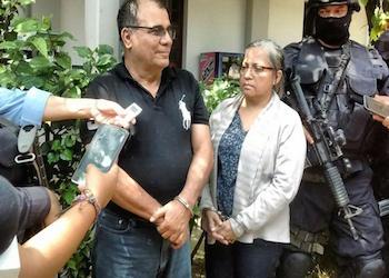 "José Adán Salazar Umaña, alias ""Chepe Diablo"". Photo by Factum/Bryan Avelar"