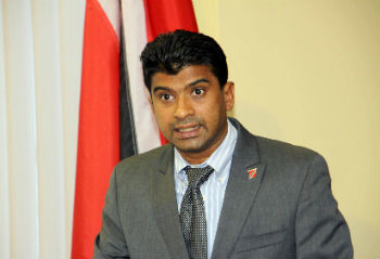 Trinidad and Tobago's former Minister Glen Ramadarsingh