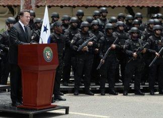 Panama's president inaugurates the new task force