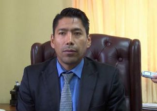Bolivia's Vice Minister of Citizen Security, Juan Carlos Aparicio