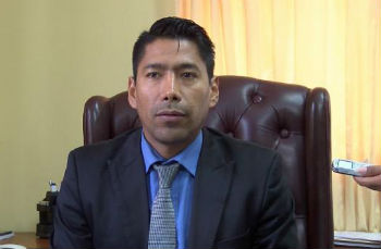 Bolivia's Vice Minister of Citizen Security, Juan Carlos Aparicio