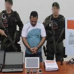Camilo Barrera, arrested for buying weapons stolen from Venezuela's military for the EPL
