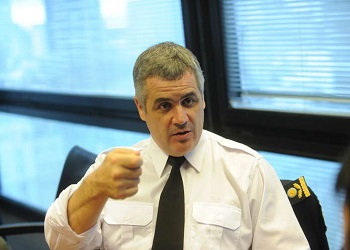 The new police chief of Buenos Aires Province, Fabián Perroni