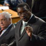 Jamaica's Minister of National Security Robert Montague