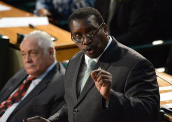 Jamaica's Minister of National Security Robert Montague